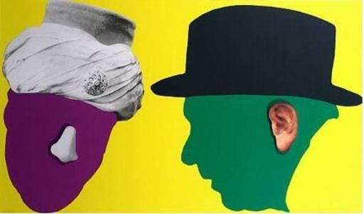 John BALDESSARI - Estampe-Multiple - Nose and Ear Series (set of 6 Prints)