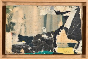 Mimmo ROTELLA - Pintura - STONES - 1957