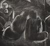 Paul GAUGUIN - Grabado - The Devil Speaks   Mahna no varua ino