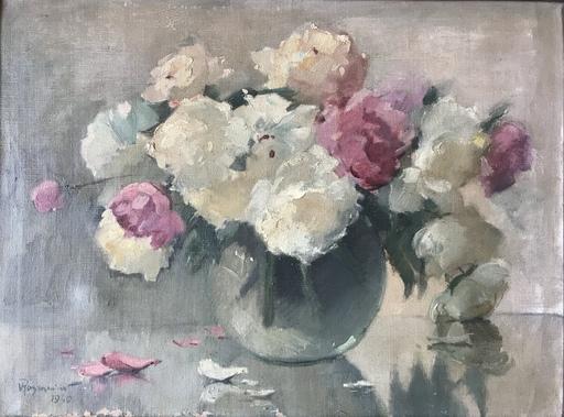 Vladimir ROZMAINSKI - Pintura - Bouquet de fleurs