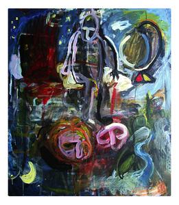 Mario SALINA - Painting - La sorgente