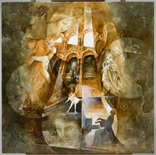 Roger SURAUD - Peinture - OPERA ET DANSEURS