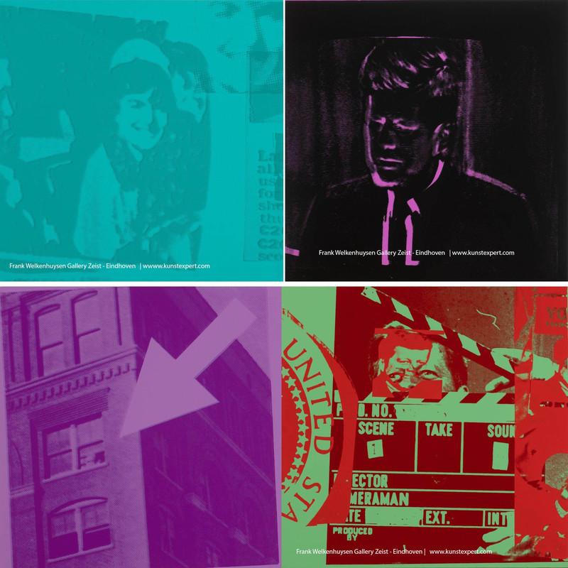 Andy WARHOL - Estampe-Multiple - Flash November 22, 1963, 1968 ( complete portfolio)