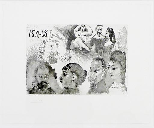 Pablo PICASSO - Grabado - Sin Título