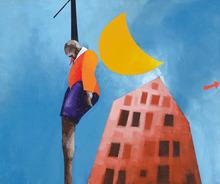 Emilio TADINI - Pintura - SOLITARIO