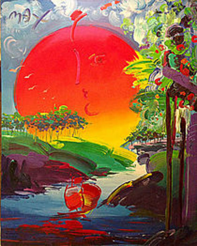 peter max without borders artwork on the marketplace