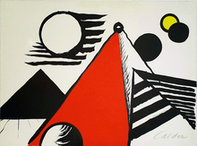 Alexander CALDER (1898-1976) - Piramid Rouge