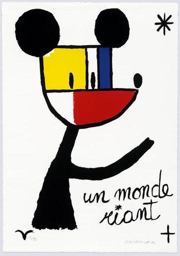 Jean-Charles DE CASTELBAJAC - Stampa-Multiplo - Un monde riant