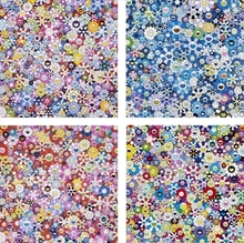 Takashi MURAKAMI - Print-Multiple - set of 4 prints by Murakami