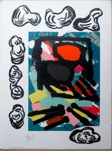 卡尔-阿佩尔 - 版画 - Tantrika I+II, 10 lithographs