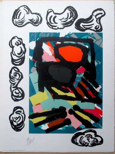 Karel APPEL - Print-Multiple - Tantrika I+II, 10 lithographs