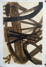 Pierre SOULAGES - Estampe-Multiple - ANTAGONISMES