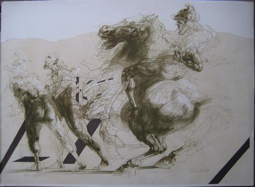 Claude WEISBUCH - Print-Multiple - LITHOGRAPHIE SIGNÉE AU CRAYON NUM/XXX HANDSIGNED LITHOGRAPH