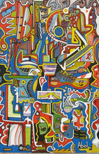 Abol ATIGHETCHI - Gemälde - Sans titre