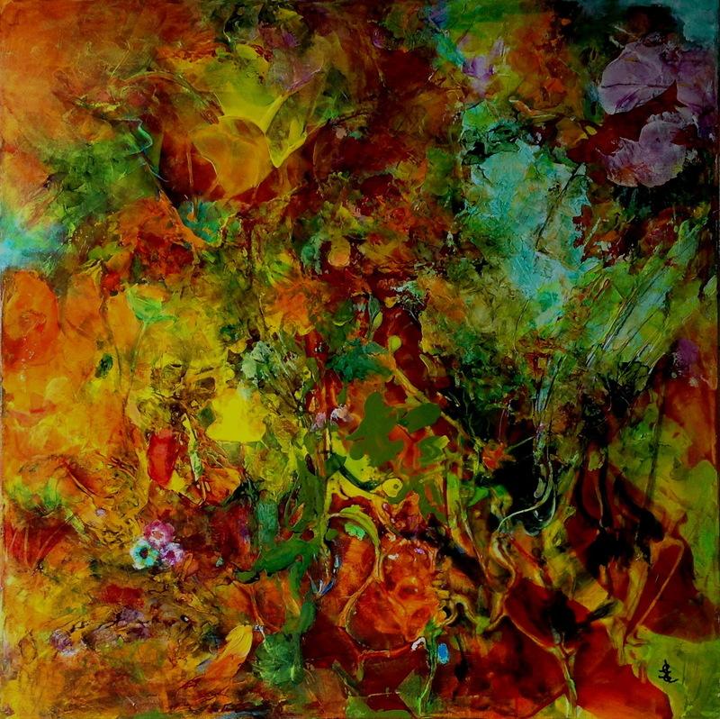 Edith LIÉTAR - Pintura - Instinct