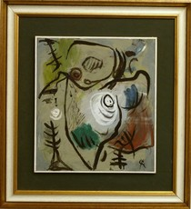 Rolf CAVAEL - Painting - D735