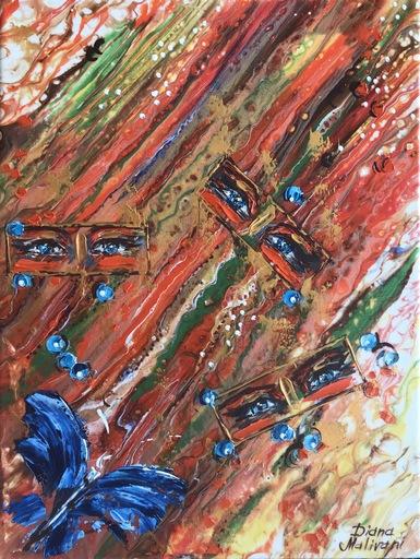Diana MALIVANI - Gemälde - Contemplation