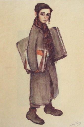 Abel Pfeffermann PANN - Druckgrafik-Multiple - Le petit hassidique