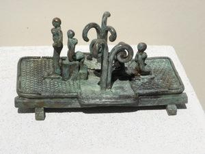 Michaël MAGNE - Sculpture-Volume - Cueillir les rameaux à la brise