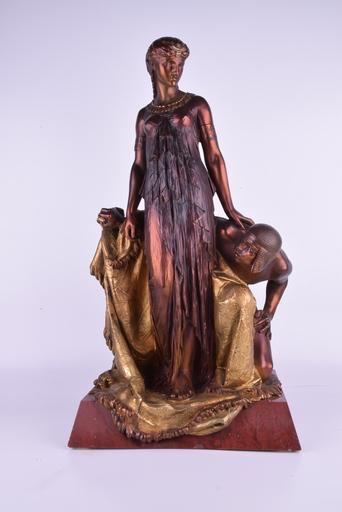 Henry Étienne DUMAIGE - Sculpture-Volume - Egyptian Princess