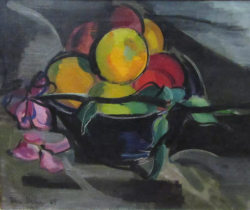 Ben BENN - Pintura - nature morte de fruits