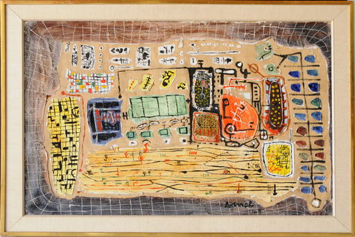 François ARNAL - Painting - La Gare