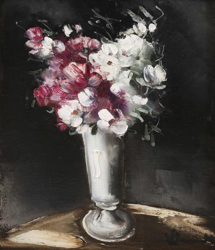 莫里斯•德•弗拉芒克 - 绘画 - Bouquet de fleurs dans un vase