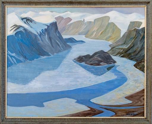 Doris Jean MCCARTHY - Painting - Pangnirtung