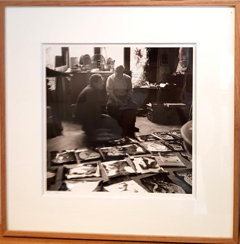 André VILLERS - Fotografia - Picasso et Heinz Berggruen