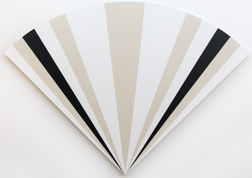 Aron HILL - Painting - Fan with 1231212121321