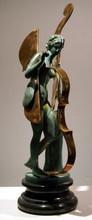 阿尔曼 - 雕塑 - FEMME VIOLON