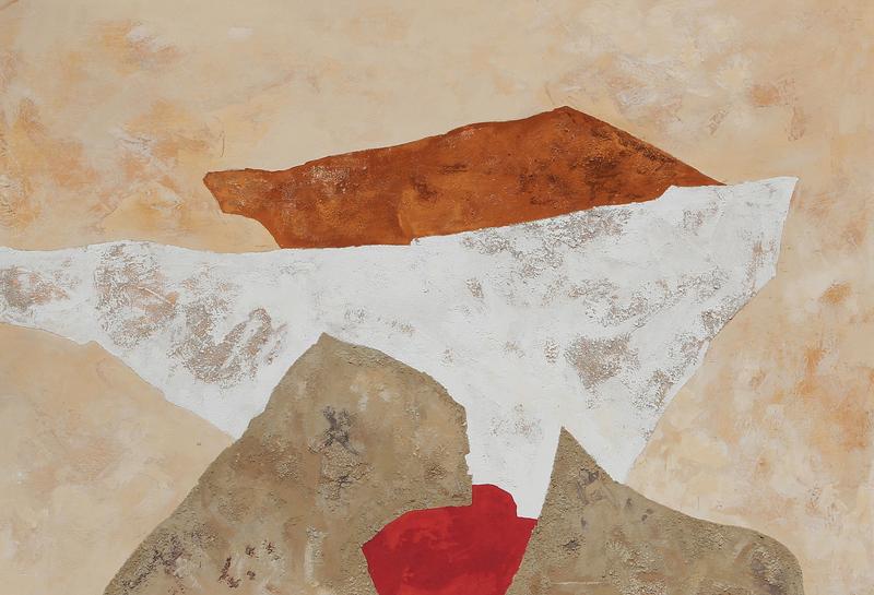 Giovanni GORINI - Painting - ORIZZONTE IMMAGINARIO