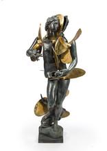 Fernandez ARMAN - Sculpture-Volume - Amphitrite with propellors