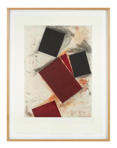 Joel SHAPIRO - Druckgrafik-Multiple - Untitled 2