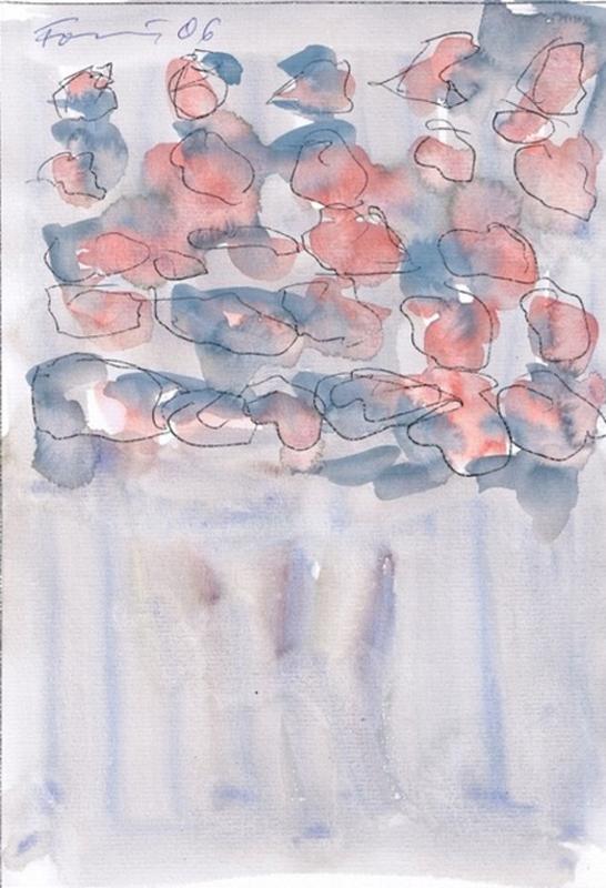 Günther FÖRG - Dessin-Aquarelle
