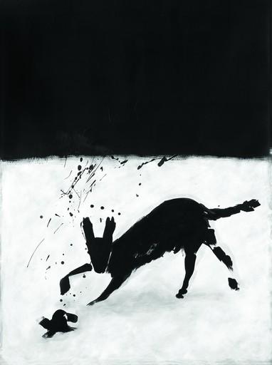 Lynne FERNIE - Painting - Coyote