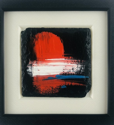 Nicole LEIDENFROST - Gemälde - Red Mountain 3