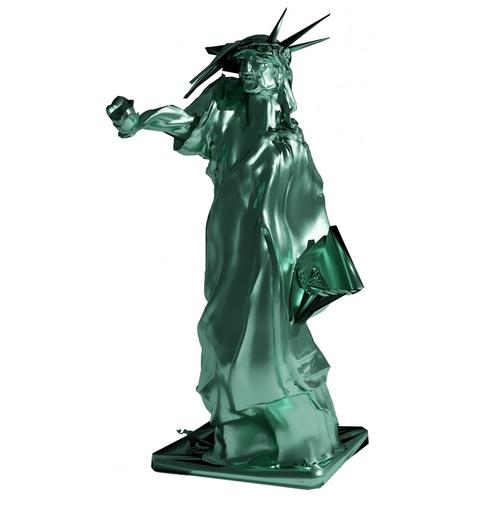 """ARSON - Sculpture-Volume - """"La statue de l'inliberté"""""""