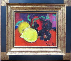 Michel NO - Painting - Les fruits