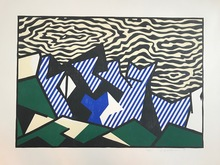 Roy LICHTENSTEIN - Stampa Multiplo - Morton A. Mort, from Expressionist Woodcut Series