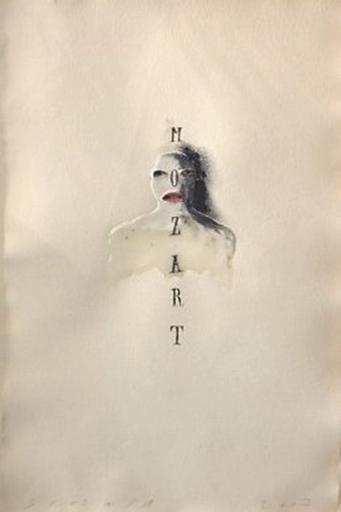 Jaume PLENSA - Drawing-Watercolor - Mozart
