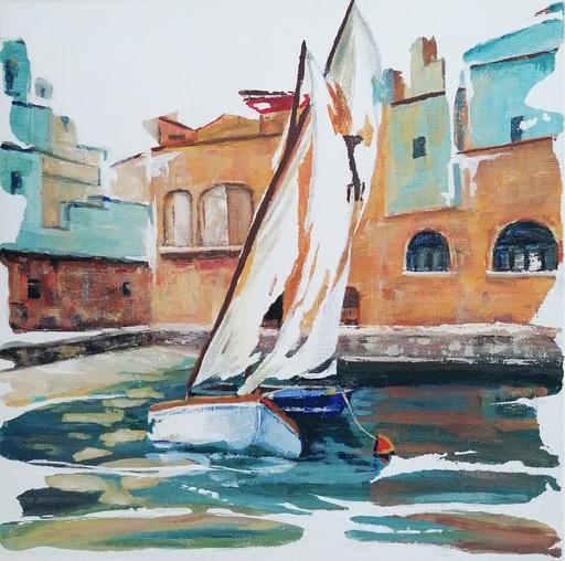 Diana KIROVA - Gemälde - Monopoli,Bari III