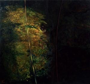 Ekaterina VORONA - Painting - Existence of human being