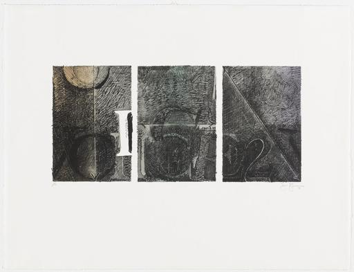 Jasper JOHNS - Print-Multiple - Voice 2