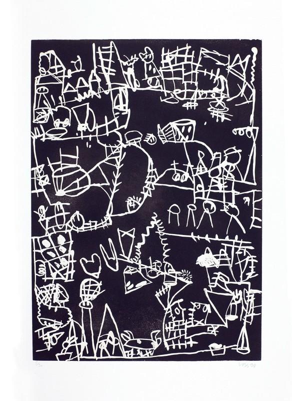 Jan VOSS - Print-Multiple - Bouche cousue