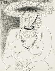 Pablo PICASSO - Print-Multiple - La Fille au Chapeau / The Girl with a Hat