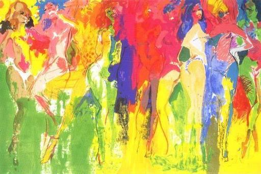 LeRoy NEIMAN - Print-Multiple - Panteras