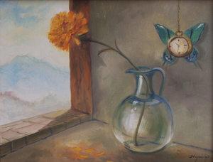 Jorge VASQUEZ QUIÑONES - Peinture - Sin Título