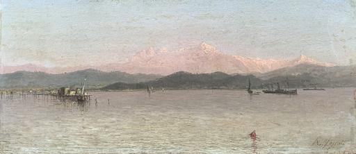 Agostino FOSSATI - Pittura - Il Golfo della Spezia