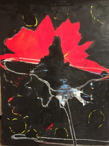 Tony SOULIÉ - Painting - Dreamed Flower ii